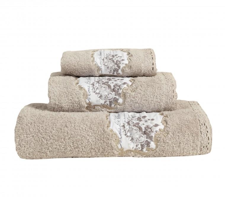 Πετσέτες Lacey, σετ 3τμχ, Nef-Nef Homeware