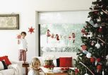 dazzling-decorated-christmas-trees-ideas-red-white-colors-modern-christmas-decoration-ideas