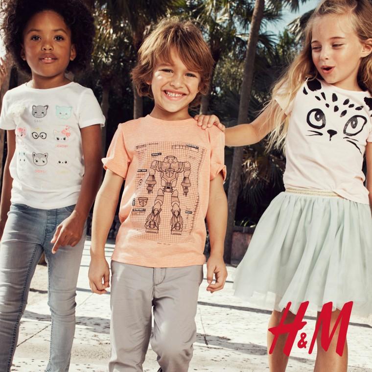 d16815711ba Πιστή στην οικολογική της συνείδηση, η H&M σας καλεί να αναζητήσετε στο  παιδικό τμήμα τις πράσινες ετικέτες 3FOR2 στα απαλά και άνετα ρούχα της  Conscious ...