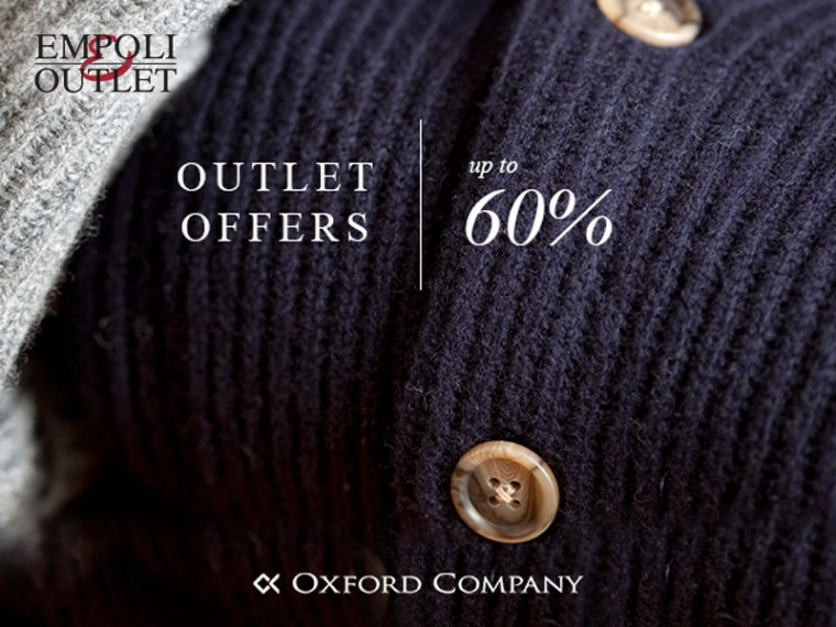 02c01f08a1 Εκπτώσεις έως -60% σε επιλεγμένα είδη της Stock συλλογής! Βρες τα στο  κατάστημα Oxford Company εντός των EMPOLI OUTLET σε Περιστέρι και Ν.Ιωνία.