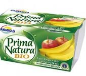 Γιαούρτι Prima-Natura-Bio-Μπανάνα & Μήλο