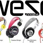 Ακουστικά Bongo από τη WeSC