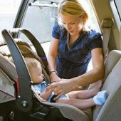 Ποια είναι η σωστή θέση στο αυτοκίνητο για το παιδικό κάθισμα;