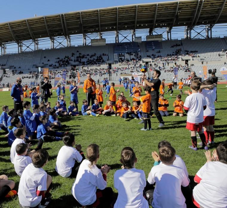 Δραστηριότητες για τα παιδιά των Αθλητικών Ακαδημιών ΟΠΑΠ_