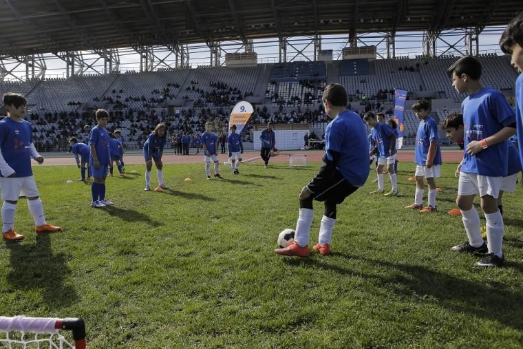 Παιχνίδια ποδοσφαιρικών δεξιοτήτων για τους μικρούς αθλητές