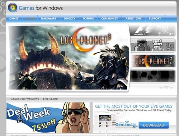 Το Games for Windows τώρα στην ιστοσελίδα του Xbox