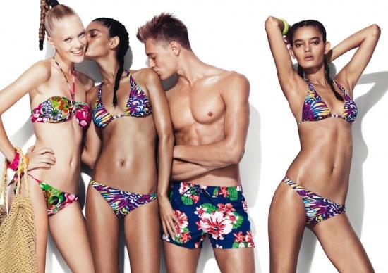 0d84c7b862b Έντονοι χρωματισμοί, ποικιλία σχεδίων αλλά και άνεση είναι τα βασικά  στοιχεία της νέας beachwear συλλογής των United Colors of Benetton.