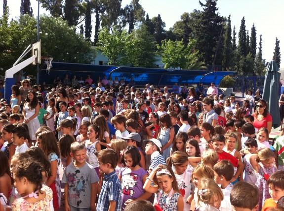 Καλή σχολική χρονιά από τα πρωτάκια της Ελληνοαγγλικής Αγωγής!
