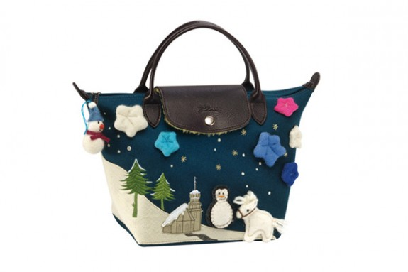 cd1bfd3315 Longchamp  Παρουσιάζει την απόλυτη χριστουγεννιάτικη τσάντα