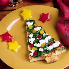 Xριστουγεννιάτικη πίτσα έλατο από την Αλεξία Αλεξιάδου
