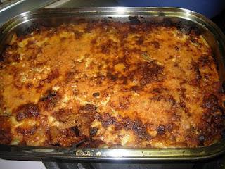 Πένες με μελιτζάνα στο φούρνο