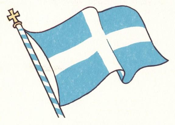 Κατασκευάζουμε την ελληνική σημαία στο Athens Metro Mall (24/3)
