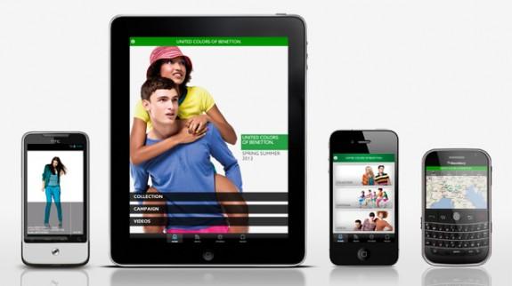 Ο κόσμος της Benetton μεταφέρεται σε όλες τις πλατφόρμες: iPhone, iPad, Android και Blackberry