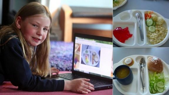 Martha Payne: Η 9χρονη blogger που κήρυξε πόλεμο στα ανθυγιεινά σχολικά γεύματα