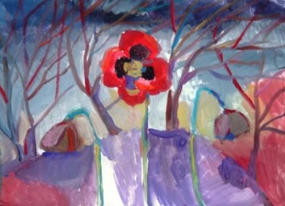 8η διεθνής έκθεση ζωγραφικής παιδιών με προβλήματα όρασης στο Εθνικό Ίδρυμα Ερευνών (5-16/6)