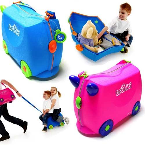 Οι αποσκευές του μικρού ταξιδιώτη