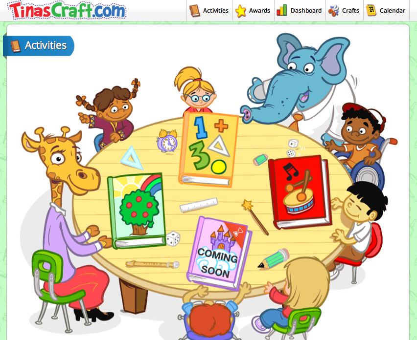 TinasCraft.com – ένα online Νηπιαγωγείο