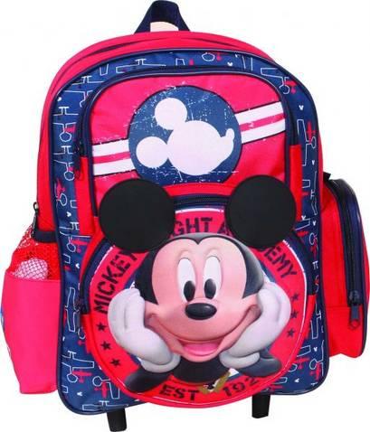 2bfbf6ea87d Όλα τα αγοράκια που τώρα πάνε παιδικό σταθμό ή νηπιαγωγείο, θα ξετρελαθούν  με αυτή την τσάντα τρόλεϊ που έχει εικόνα του Mickey Mouse!