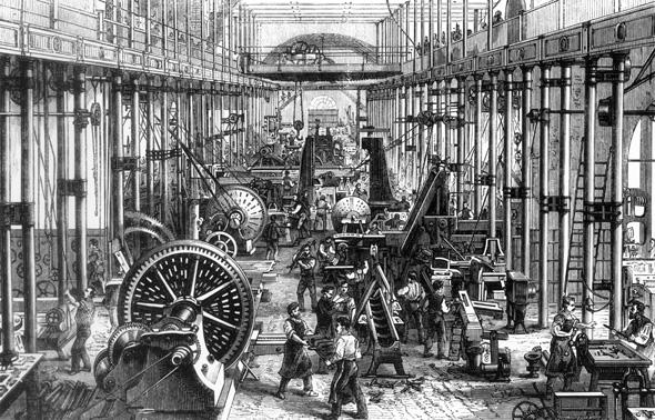 βιομηχανική επανάσταση
