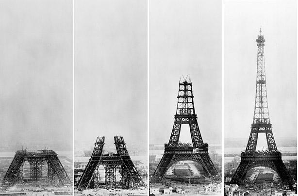 κατασκευή του Πύργου του Άιφελ