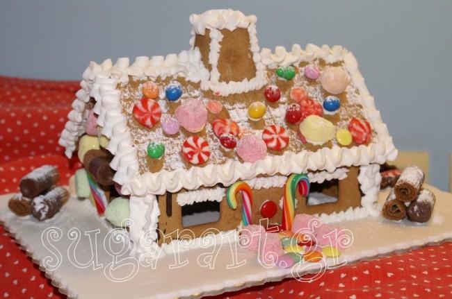 Κερδίστε 5 μεγάλα Χριστουγεννιάτικα μπισκοτόσπιτα αξίας 500€ από το Sugar Art!
