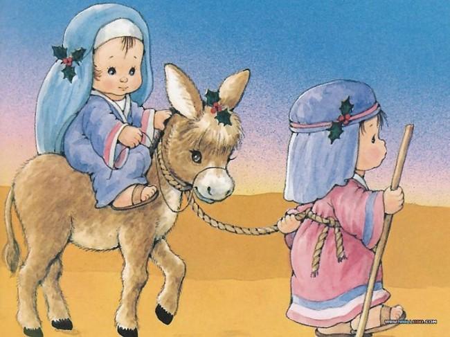 το ταξίδι της Μαρίας και του Ιωσήφ