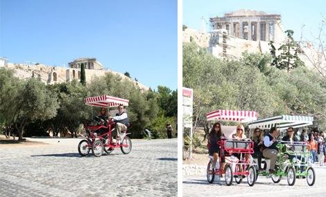 Οικογενειακή βόλτα στην παλιά Αθήνα με Fun Bikes