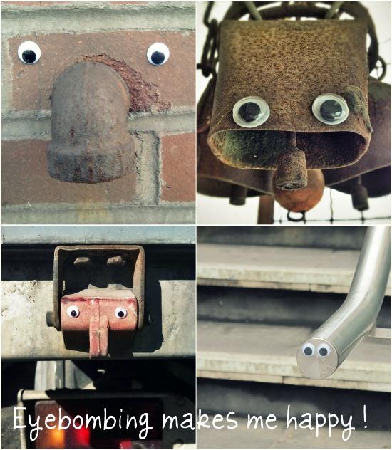 Διασκεδάστε κάνοντας eyebombing!