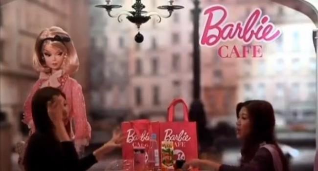 Barbie Cafe στην Ταιβάν για τις φανατικές φίλες της ροζ κουκλίτσας
