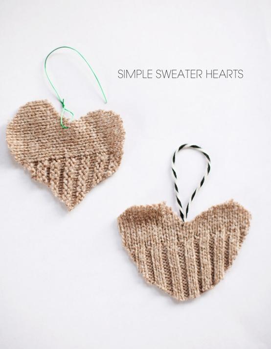Καρδιές από …πουλόβερ!