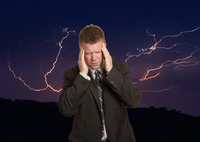 Οι αστραπές προκαλούν πονοκεφάλους και ημικρανίες