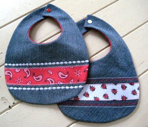 Τζιν σαλιάρες για trendy μωρά