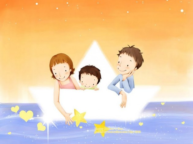 16001200--childrens-illustration-of-mother-day-and-family-love-16801050-childrens-illustration-of-sweet-family-life--lovely-family-illustration-98721