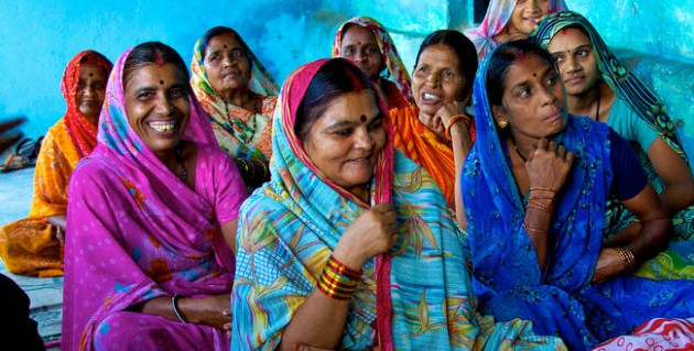 smiles and determination of rural Indian women #4