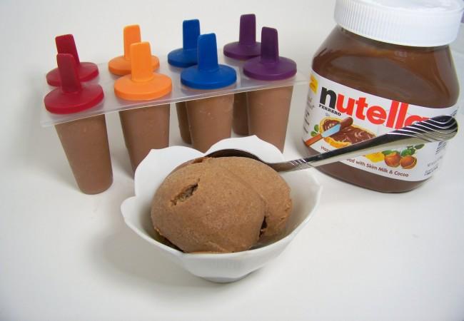 Super Simple Nutella Ice Cream