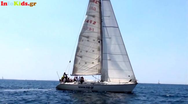 Μαθαίνουμε ιστιοπλοΐα και εξερευνούμε τα ελληνικά νησιά -Οι υπεύθυνοι του Ιστιοπλοϊκού Ομίλου Πειραιώς μιλούν στο infokids.gr (Βίντεο)