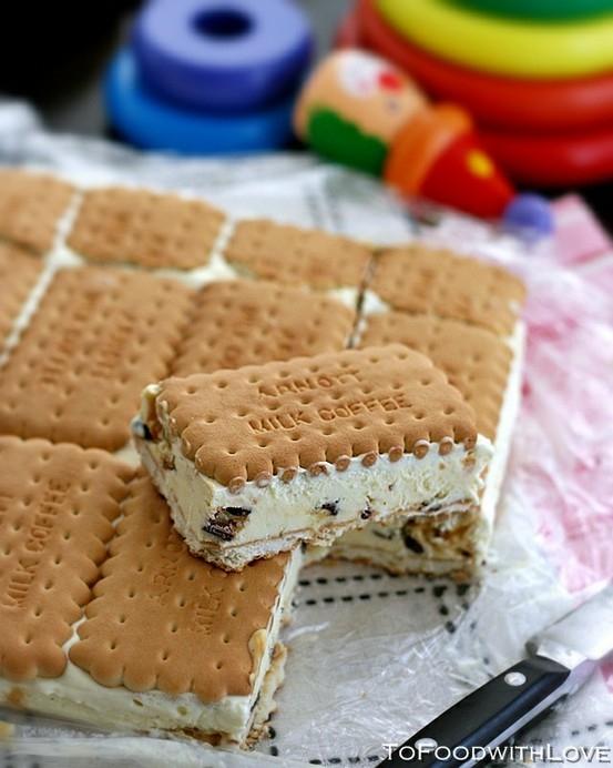 Σάντουιτς παγωτό απίθανο και γευστικό!