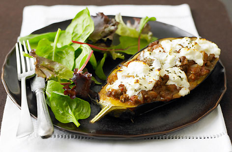 Moussaka-stuffed-aubergines-recipe