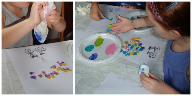 kids-finger-painting-collage