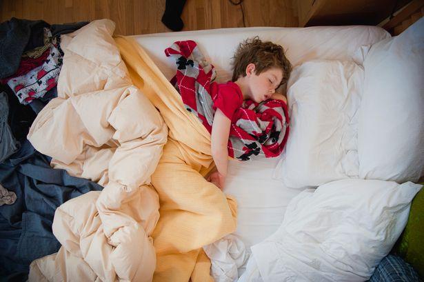 Sleeping-child--