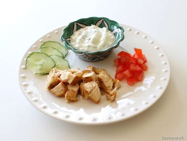 Chicken Pita & Greek Yogurt Sauce via homework (6)_thumb[1]