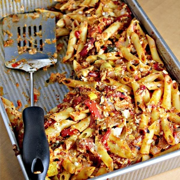 Πέννες με ψητά λαχανικά | Infokids.gr