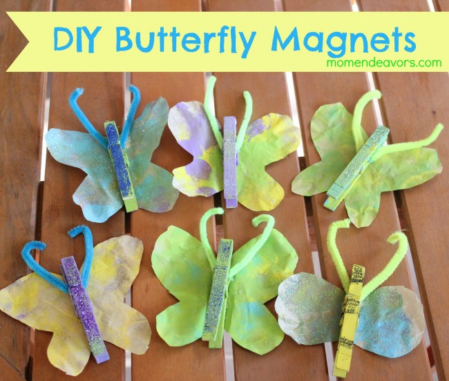 DIY-Butterfly-Magnets
