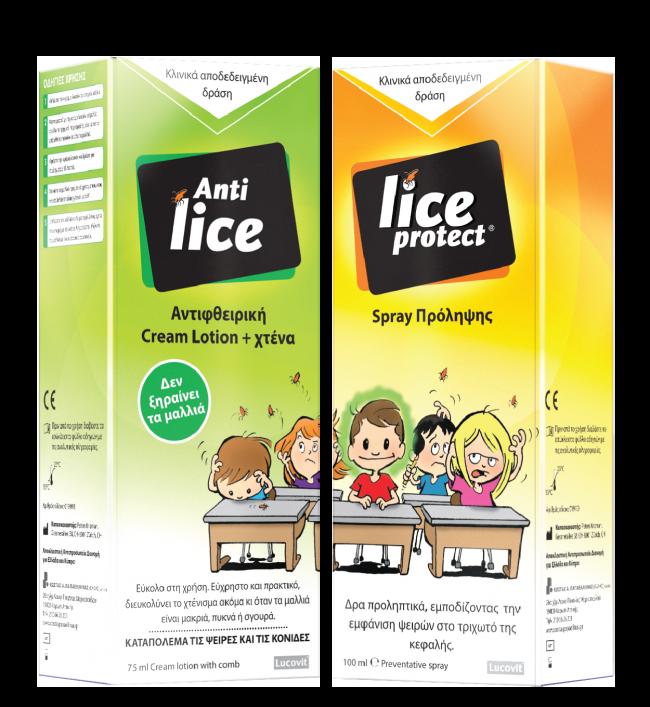 Lice-packs