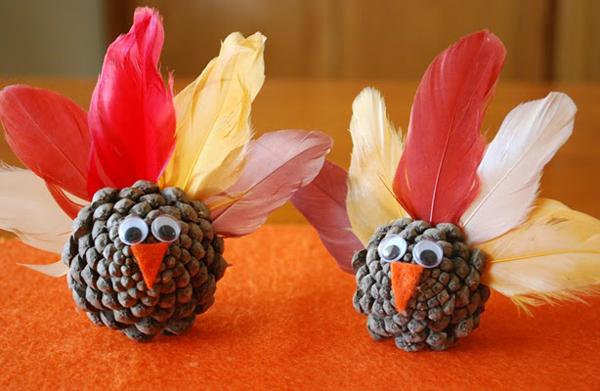 Pinecone-Turkeys-Craft