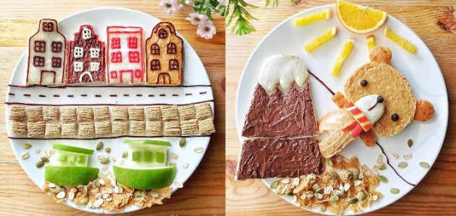 Stay-at-Home-Mom-Creates-a-Story-per-Plate-Using-Food-Becomes-Instagram-Hit