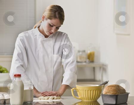 cutcaster-photo-100364839-Woman-Making-Pie