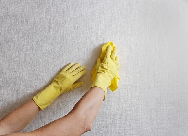 walls-cleaning