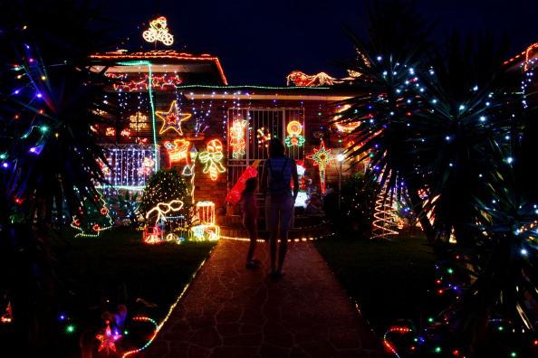 Christmas Lights Illuminate Sydney