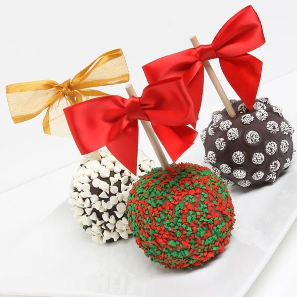 Χριστουγεννιάτικα καραμελωμένα μήλα